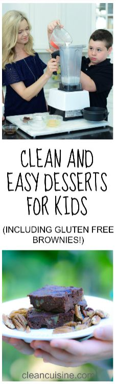Getting kids to eat healthy can be a real challenge. But I've found one of the very best ways to spark their interest is to get them in the kitchen. And you can start with dessert! I've rounded up 10 clean and easy desserts for kids to make plus a story from one little boy who is very special to me. #healthykids #cleaneatingrecipes #desserts