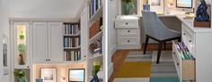 Try these home office improvement tips to boost your productivity.