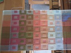 This is my version of Anne Dixon's Summer and Winter Gamp. I have other colors of 20/2 cotton than the rainbow. It is very interesting so far – back to the loom to see the other iterations of tabby and pattern weft. Other items you may enjoy:Ocean fingersBlack and White wall hangingSummer and winter towelFirst…