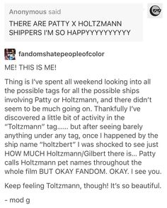Toltzmann, Patty Tolan, Jillian Holtzmann, ghostbusters<<I SHIP IT SO HARD I THOUGHT I WAS THE ONLY ONE