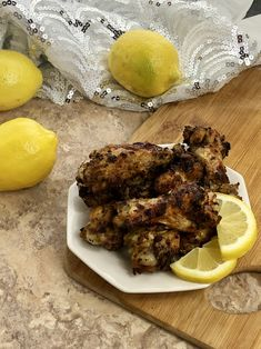 Calling all chicken wing lovers, a new flavor has stepped up to the plate! Whip up these Garlic Lemon Pepper Air Fryer Chicken Wings and prepare to be shocked at how finger licking good they are! These chicken wings will go fast, so if you are having a lot of people over you will want to make a double batch.