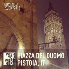 Piazza del Duomo Pistoia | @giamma72