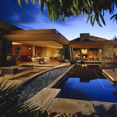 contemporary pool by Swaback Partners, pllc