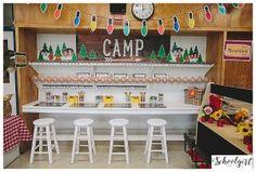 Happy Camper Classroom Theme by Schoolgirl Style www.schoolgirlstyle.com camping classroom theme, classroom decor, woodland animals, bulletin boards, classroom organization, Writing Center