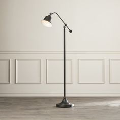 Crosby Schoolhouse Desk Lamp - Ebony -Threshold™ (Includes CFL ...