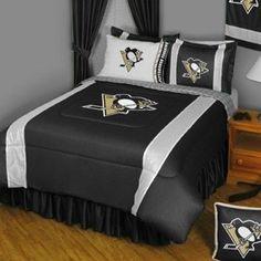 NHL Pittsburgh Penguins Sidelines Comforter