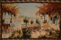 Tache 28 X 47 Inches Summer Ocean View Table for Two Tapestry Wall Hanging Art Decor >>> Check out the image by visiting the link. (This is an affiliate link and I receive a commission for the sales)