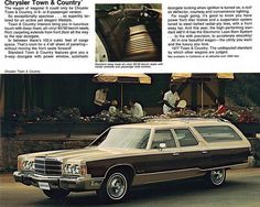 1977 Chrysler Town and Country Station Wagon
