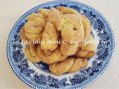 Τα ταξίδια μου : Ζαχαρένια Νηστίσιμα Κουλουράκια Ρετσίνας – Lenten Sugary Cookies with White Wine