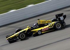 Dario Franchitti Photos: Iowa Corn Indy 250 - Day 2