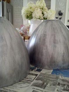 DIY Antique Finish for Barn Pendants Lights - Rooms For Rent blog