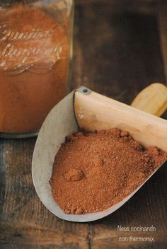 Neus cocinando con Thermomix: Preparado para chocolate caliente