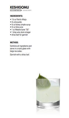KESHIGOMU   Patrón Tequila