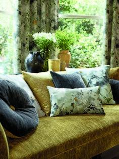 Роскошные ткани для обивки мебели