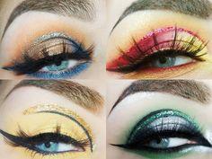 Harry Potter Makeup, Harry Potter Art, Harry Potter Hogwarts, Eye Makeup Art, Makeup Inspo, Makeup Inspiration, Makeup Ideas, Maquillage Harry Potter, Huda Beauty