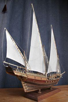 XEBEC, боевой корабль. Ручная работа