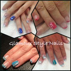All the same design of nail but still all different