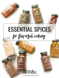 The 10 ESSENTIAL SPICES for more flavorful, delicious and healthy recipes!