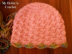Free Crochet Hats for Newborns | Crochet hat with earflaps for b aby/toddler