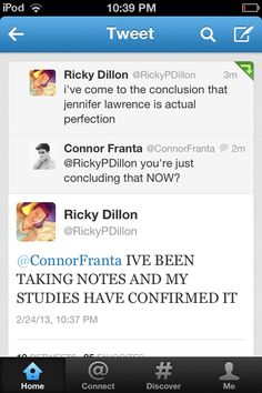 If you've never read a Connor & Ricky conversation, well here it is. Just imagine sitting with them for a day. And then they're moving in with each other this summer.