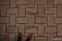 Brick Design, Concrete Design, Tile Design, Floor Patterns, Tile Patterns, Paving Texture, Geometric Shapes Art, Brick Material, Tile Stairs