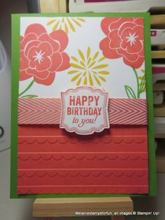 Melaniestampsforfun: Simple Stems Birthday
