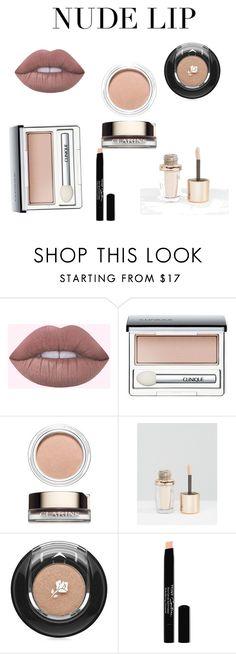 """Untitled #27"" by diamondsavage101 ❤ liked on Polyvore featuring beauty, Clinique, Clarins, Nude by Nature, Lancôme and Givenchy"