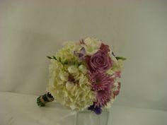 Bridesmaids, purple, white. www.plushflowers.ca