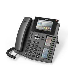 high-end desktop phone Fanvil Enterprise IP Phone with DSS Key-mapping Lines HD Voice POE Enabled Headphone Best Cell Phone Deals, Call Forwarding, Caller Id, Safety And Security, Wireless Headset, Ip Camera, Fibre, Office Phone, Telephone