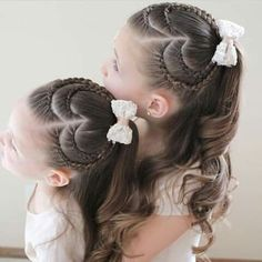 haar kinderen meisjes haar kinderen meisjes 91 adorable heart hairstyles cute hairstyles for kids you will love! Childrens Hairstyles, Cute Hairstyles For Kids, Baby Girl Hairstyles, Princess Hairstyles, Pretty Hairstyles, Heart Hairstyles, Kids Hairstyle, Hairstyles Pictures, Ethnic Hairstyles