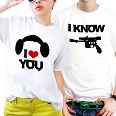 Star Wars Couples Matching Shirts, Couples T Shirts, Funny Couple Shirts