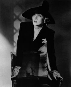 """thedramaofexile: """"  Portrait by Horst - Marlene Dietrich 1942 """""""