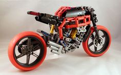 MV Brutale 800 by Lego Technic Motorcycles