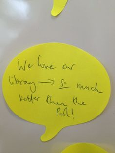 Hurrah! That's great to hear. A lot of thought went into ensuring the Innovation Library would provide an ideal studying space for law students. We're very pleased to hear you're happy:-)
