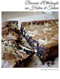Brownie D'Ottolenghi au Halva et Tahini - Encore une lichette Yotam Ottolenghi, Ottolenghi Recipes, Krantz Cake, Chefs, Halva Recipe, Cookie Recipes, Dessert Recipes, No Cook Desserts, Biscuit Cookies