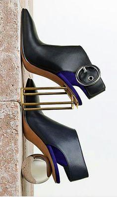 The Sculptural Heel   Celine   cynthia reccord