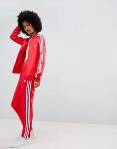 Изображение 1 из Красные спортивные штаны с тремя полосами adidas Originals  adiclor Adidas Originals, Оригиналы 7134e0c7ed7