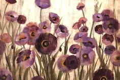 Pink and Purple Flowers Fine-Art Print by Silvia Vassileva at UrbanLoftArt.com