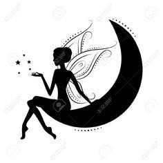 silhueta de fada fairy - Pesquisa Google
