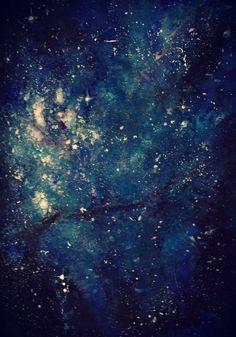 Galaxy - Made by acrylic. Check out my deviantart: http://ahsr.deviantart.com/art/Galaxy-painting-356589896