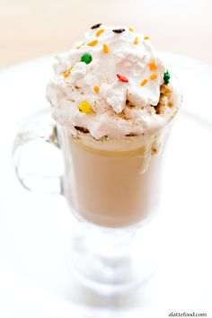 Spiced White Hot Chocolate | A Latte Food: