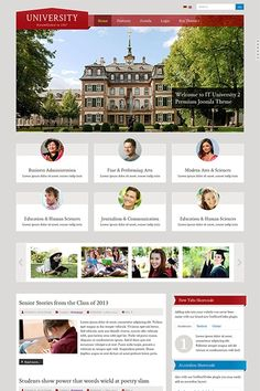 IT University 2 - A Fully Responsive Premium Theme with a unique flat design layout to get the website your school deserves. You check the Demo here: http://demo.icetheme.com/?template=it_university2