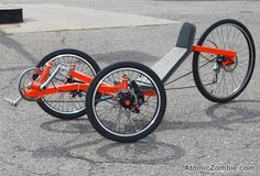 Build your own recumbent racing trike!