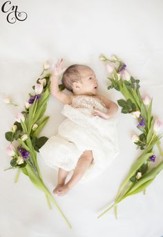 Infant photography Chrissy Noel photography cumming ga #flowers
