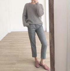 灰色 全套 皮粉 鞋 粉 灰