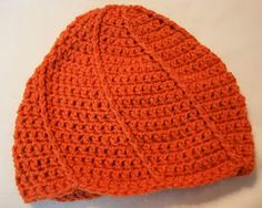 This Crafting Life: Super Spiral Hat: Hat of the 30 day Hat Challenge Crochet Adult Hat, Crochet Cap, Crochet Beanie, Free Crochet, Crochet Afghans, Knitted Hats Kids, Crocheted Hats, Knit Hats, Easy Crochet Patterns