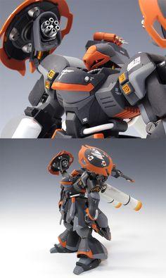 "Custom Build: HGUC 1/144 Jagd Doga ""Ultimate"" - Gundam Kits Collection News and Reviews"