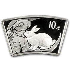 Australian Series II Lunar Gold 20th Ounce 2011 Rabbit Colorized