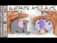 Amigurumi Elefante Llavero Paso a Paso (sub. Español y English) - YouTube