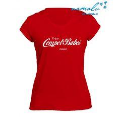 Czarna, czerwona lub biała koszulka męska lub damska z napisem Compot Babci :)  Aktualnie dostępne koszulki z długim lub krótkim rękawem, w rozmiarach: S-XXL  Tylko koszulki i materiały najwyższej jakości, sprawdź opinie o naszych produktach w Google i na Facebooku. Classic, Google, Tops, Women, Fashion, Derby, Moda, Fashion Styles, Classic Books